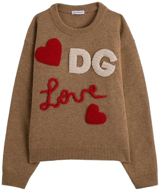 Item - With Logo Brown Sweater