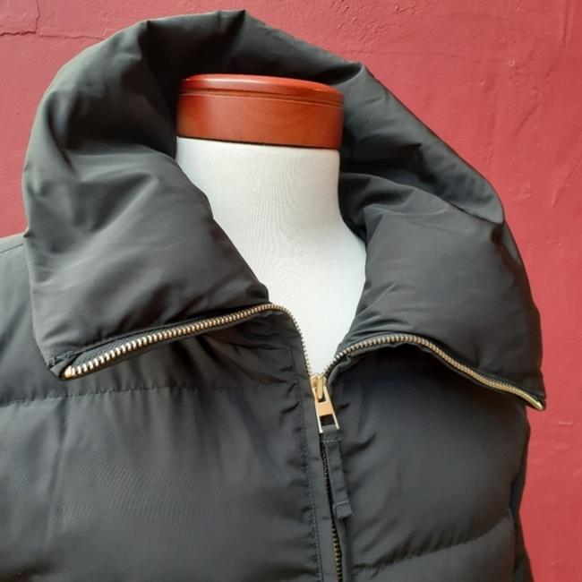 Talbots Black Quilted Longline Belted Goose Down Blogger Fave Christmas Coat Size 12 (L) Talbots Black Quilted Longline Belted Goose Down Blogger Fave Christmas Coat Size 12 (L) Image 12