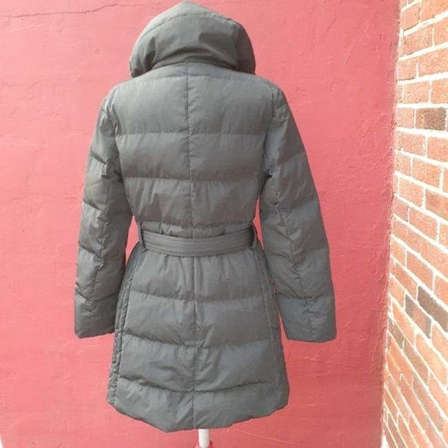 Talbots Black Quilted Longline Belted Goose Down Blogger Fave Christmas Coat Size 12 (L) Talbots Black Quilted Longline Belted Goose Down Blogger Fave Christmas Coat Size 12 (L) Image 8
