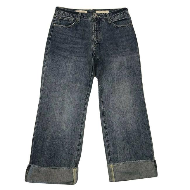Item - Pilcro and The Letterpress Blue Folio Capri/Cropped Jeans Size 30 (6, M)