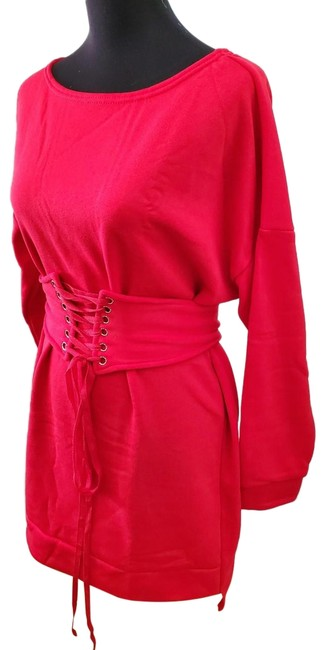 Item - Red Winter Summer Tunic Size OS (one size)