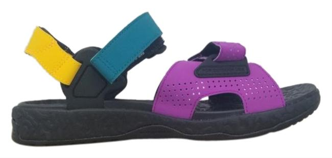 Item - Black/Yellow/Purple Acg Air Deschutz Vivid Unisex.ct2890-002 Sandals Size US 10 Regular (M, B)