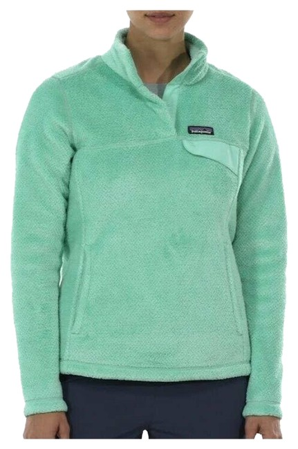 Item - Green Women's Re-tool Snap-t Pullover Sweater - Vjosa Sm Coat Size 6 (S)