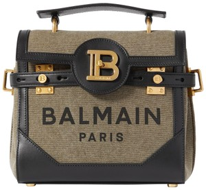 Balmain Paris Baguette Blue Bbuzz Cross Body Bag