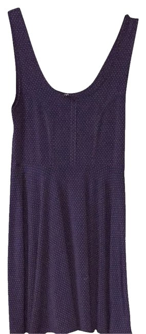 Free People short dress Navy, Red Polka Dots on Tradesy