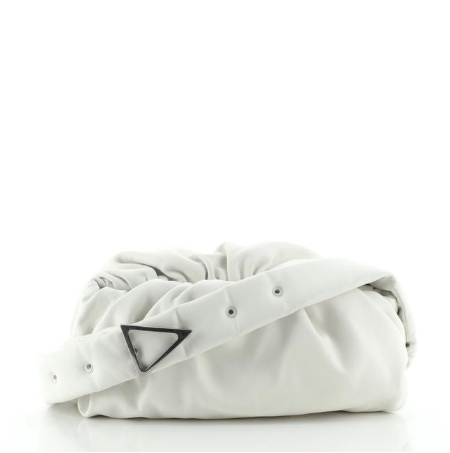 Item - The Body Pouch Small White Leather Shoulder Bag