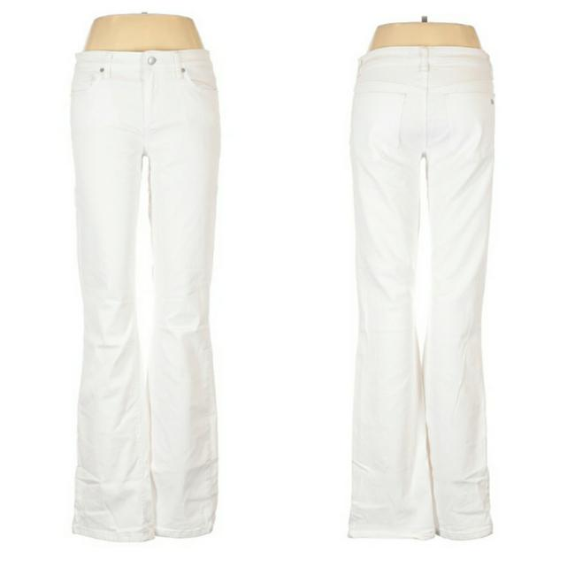 Item - White Light Wash Honey Boot Cut Jeans Size 32 (8, M)