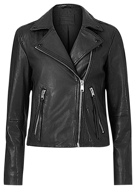 Item - Black with Tag Dalby Leather Biker Jacket Size 0 (XS)