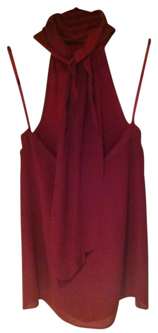 Item - Red Halter Top Size 2 (XS)