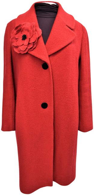 Kate Spade Red Small (6) Coat Size 6 (S) Kate Spade Red Small (6) Coat Size 6 (S) Image 1