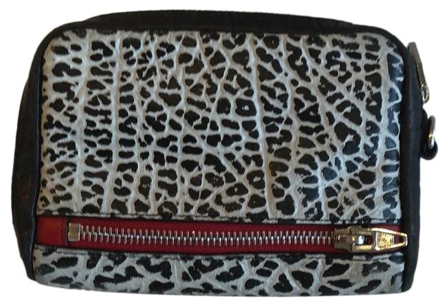 Item - Black and Gray Clutch Small Wallet