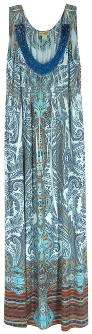 Item - Multicolor Casual Maxi Dress Size 8 (M)