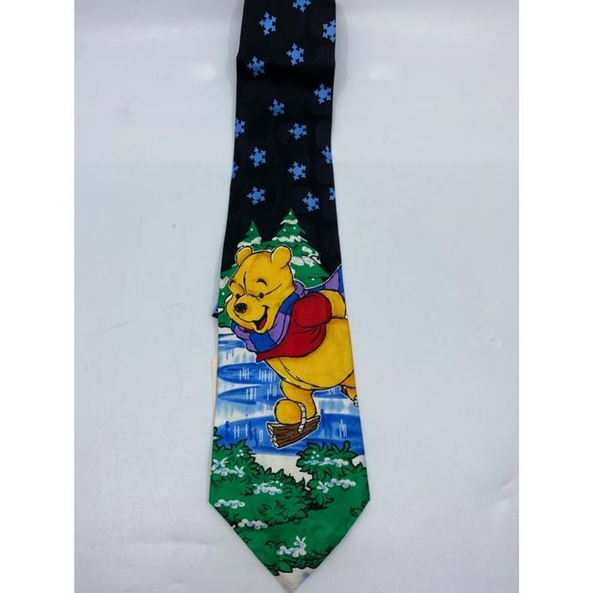 Item - Blue Green New Winnie The Pooh Christmas Theme Neck Msrp Tie/Bowtie