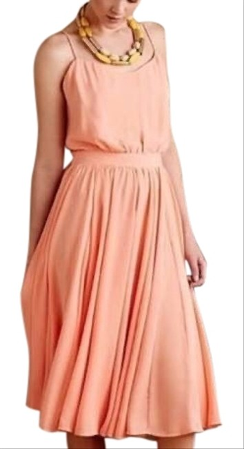 Item - Pink Peach Tree Mid-length Cocktail Dress Size 6 (S)