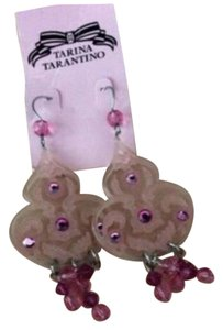 Tarina Tarantino classic pink chandelier earrings