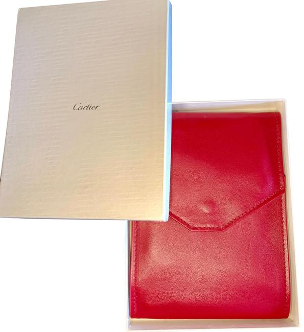 Item - Red Leather Necklace Case