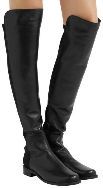Item - Black 5050 Over The Knee Boots/Booties Size US 7 Regular (M, B)