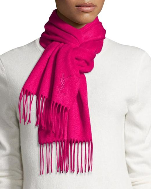 Item - Rose Yves Color Wool Women's Winter Scarf/Wrap