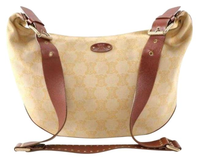 Item - Xbody In Monogram Brown Yellow Canvas & Leather Hobo Bag