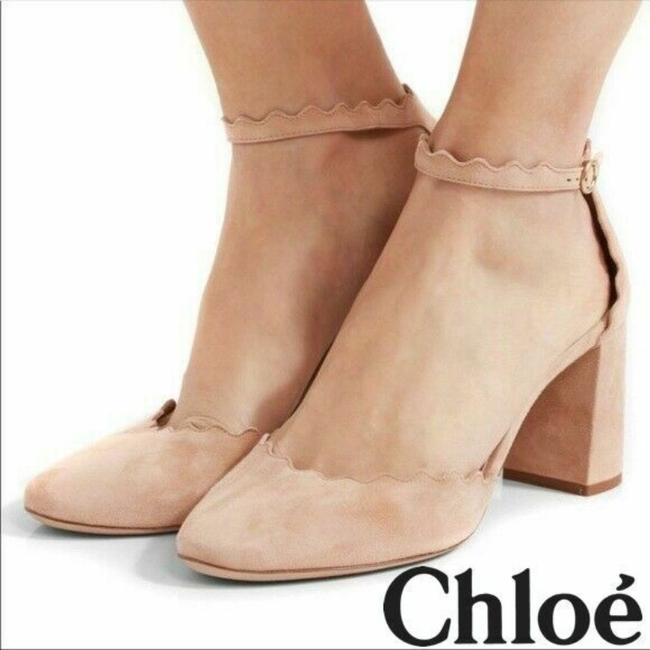 Item - Nude Suede Lauren Pumps Size US 12 Regular (M, B)