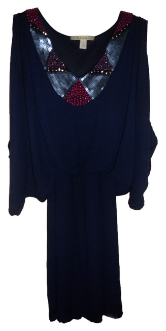 Preload https://item4.tradesy.com/images/miami-dress-navy-blue-with-pink-details-2837848-0-0.jpg?width=400&height=650
