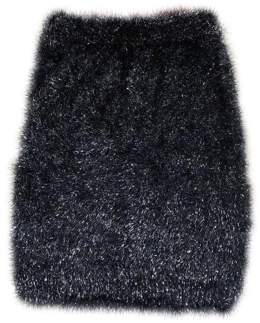 Item - Multicolor Clothing From Akira M Metallic Fuzzy Fringe Pull On Pencil Skirt Size 8 (M, 29, 30)