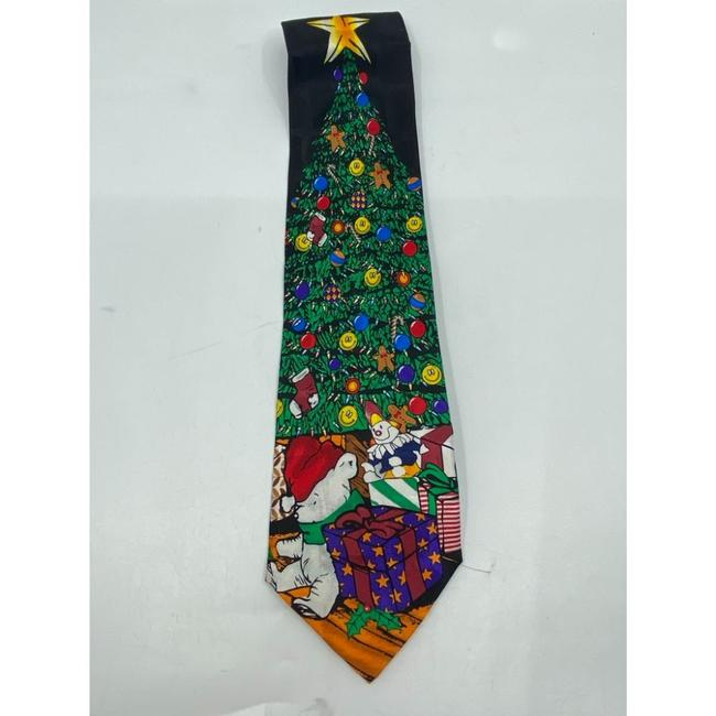 Item - Black Green Red New Christmas Theme Neck Msrp Tie/Bowtie