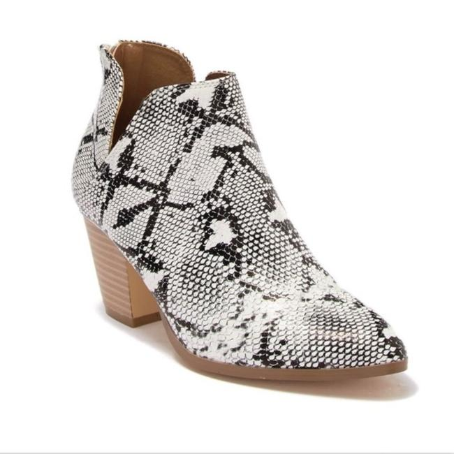 Item - White Snake Polly Embossed Ankle Boots/Booties Size US 6 Regular (M, B)