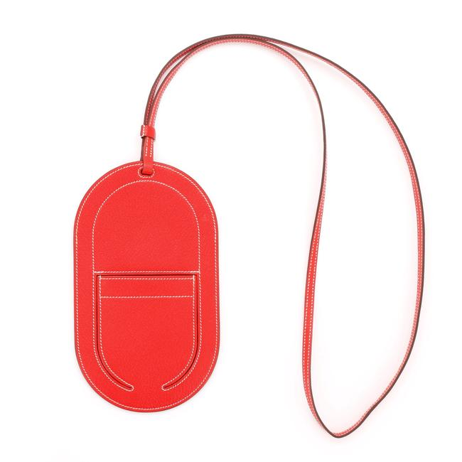 Item - Red In-the-loop Phone To Go Case Leather Gm Tech Accessory