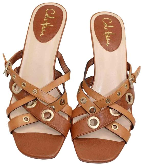 Item - Brown Nikeair Leather Strappy Aa Sandals Size US 10 Narrow (Aa, N)