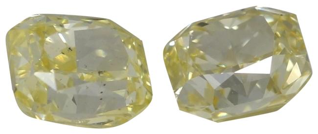 Item - Yellow A Pair Of Radiant Loose 1.21 Ct / Vs1 Si2 Gia C41004141