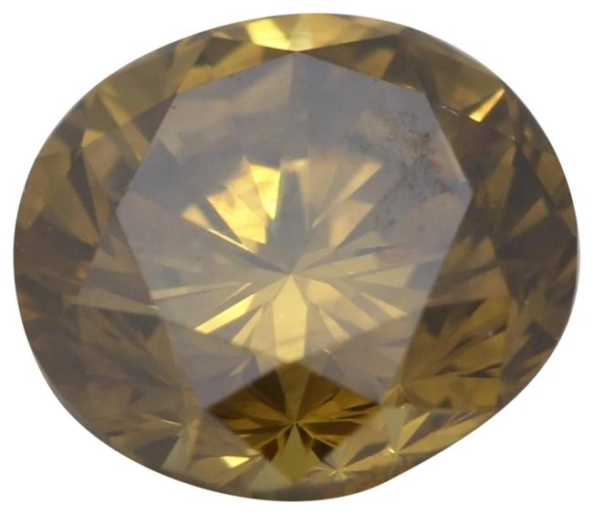 Item - Yellow Round Loose Diamond 1.7 Ct Vivid Yellowish Orange Hpht Aig C41003032