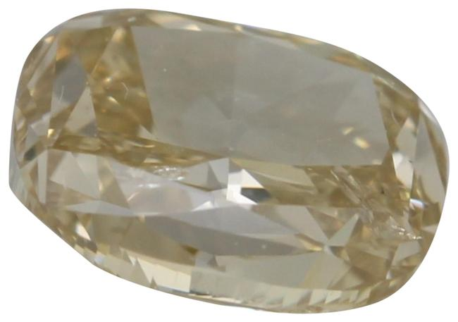 Item - Yellow Cushion Loose Diamond 1.51 Ct Natural Brown Si2 Gia C41000010