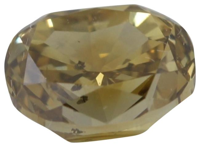 Item - Yellow Oval Loose Diamond 1.01 Ct Brown Greenish Si2 Gia C41000023