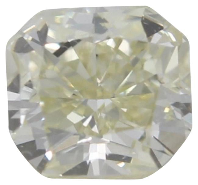 Item - Yellow Radiant Loose Diamond (0.49 Ct Si1 Clarity) Gia C41000030