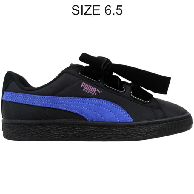 Item - Black/Baja Blue Basket Heart Nylon 364954 02 Sneakers Size US 6.5 Regular (M, B)