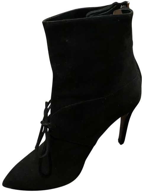 Item - Black Suede Ankle Boots/Booties Size EU 39 (Approx. US 9) Regular (M, B)