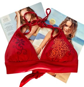 Victoria's Secret Victoria's Secret Red Bikini Top