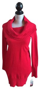 INC International Concepts short dress Red Sweater on Tradesy