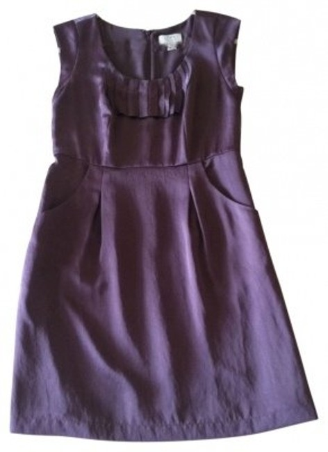 Preload https://item4.tradesy.com/images/ann-taylor-loft-purple-sleeveless-above-knee-cocktail-dress-size-petite-2-xs-28383-0-0.jpg?width=400&height=650
