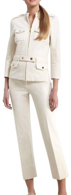 Item - Cream Sylvia Cropped Activewear Bottoms Size 4 (S, 27)