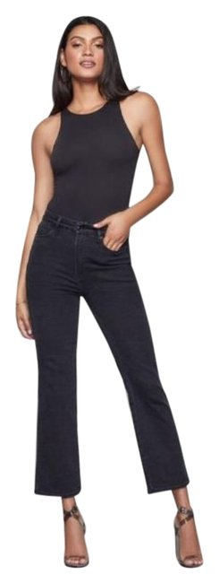 Item - Black Dark Rinse Goodcurve High Waist Straight Leg Jeans Size 25 (2, XS)
