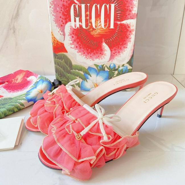 Item - Pink Peach Sandals Size US 7.5 Regular (M, B)