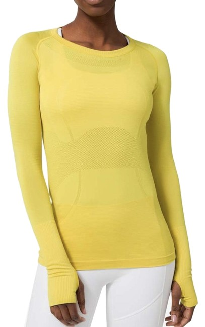 Item - Soliel (Yellow) Run Swiftly Activewear Top Size 6 (S)