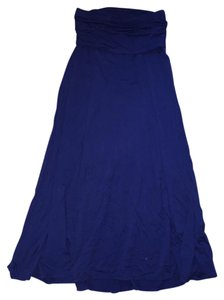 Max Studio Maxi Skirt Blue