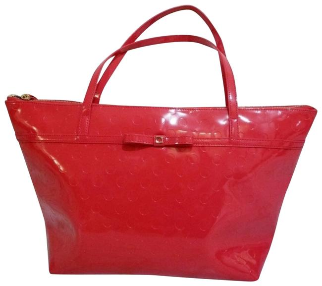 Item - Bag Sophie Chili with Bow Red Tote