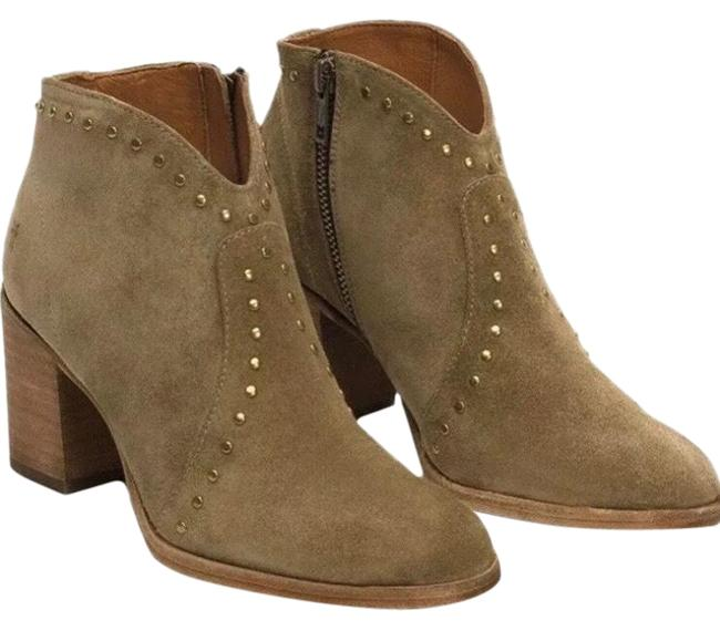 Item - Light Olive/Sand Nora Suede Stud Boots/Booties Size US 6 Regular (M, B)