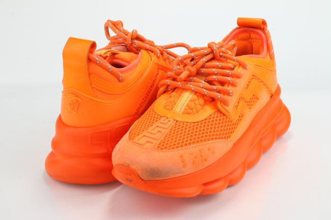 Item - Orange Chain Reaction Sneakers Shoes