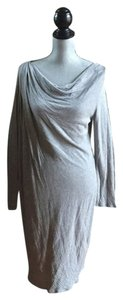 DKNY short dress Grey Knee Length on Tradesy