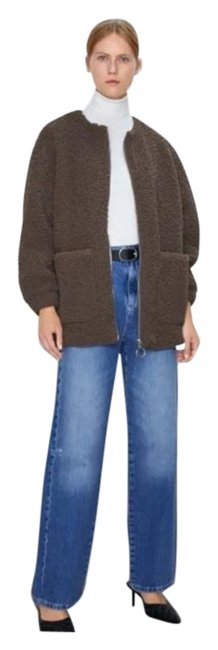 Item - Brown Faux Shearling Coat Size 6 (S)